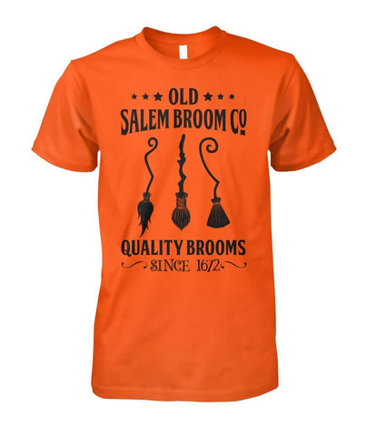 Old Salem Broom Shirt - Witch Apparel