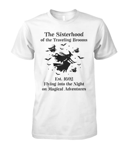 Sisterhood Traveling Brooms Shirt - Witch Apparel
