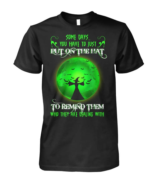 Put on the Hat Shirt - Witch Apparel