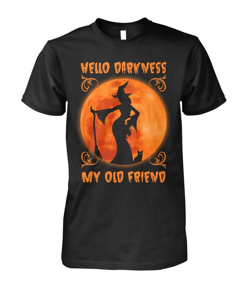 Hello Darkness My Old Friend Shirt - Witch Apparel