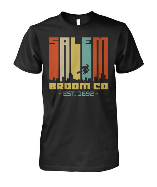 Salem Broom Shirt - WitchCraft 101