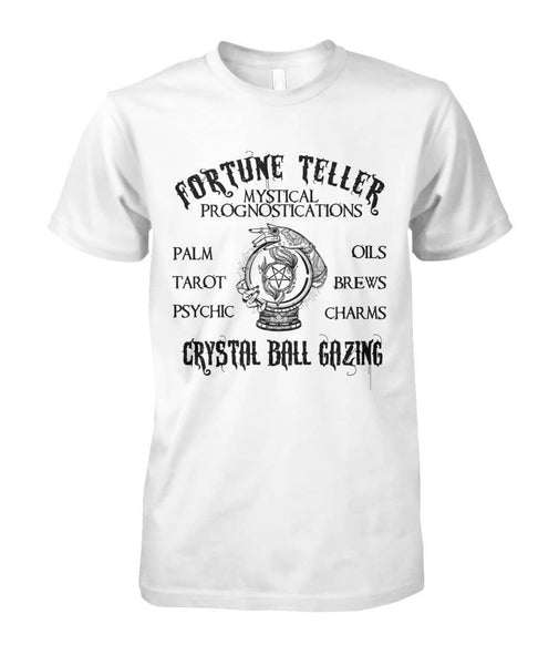 Fortune Teller Crystal Ball Gazing Shirt - Witch Apparel