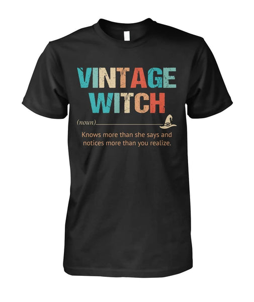 Vintage WItch Shirt - Witch Apparel