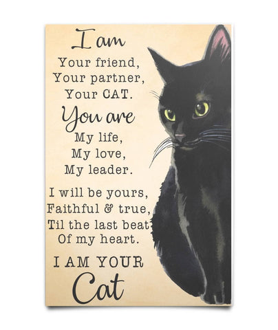 Your Black Cat Poster - Witch Apparel