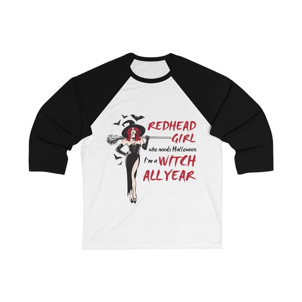 I'm A Witch All Year Baseball Tee - Witch Apparel