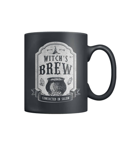 Witch's Brew Concocted In Salem Color Coffee Mug - Witch Apparel
