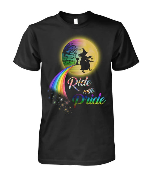 Ride With Pride Shirt - Witch Apparel