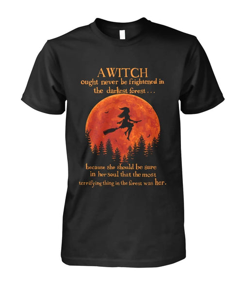 A Witch In The Darkest Forest Shirt - Witch Apparel