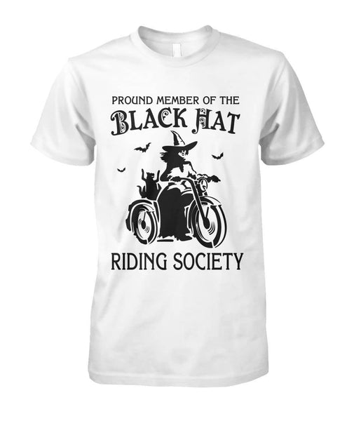Black Hat Riding Society Shirt - Witch Apparel