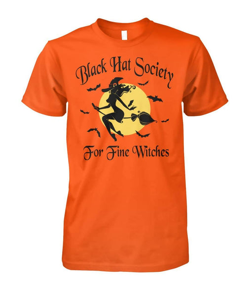 Black Hat Society For Fine Witches Shirt - Witch Apparel