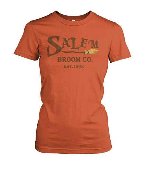 Witch Clothing - Salem Broom Shirt - Witch Apparel
