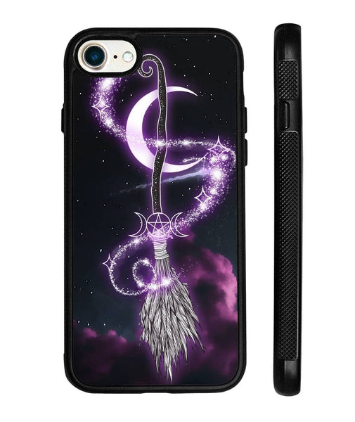 Witch's Broom Witches Broomstick Wicca Wiccan Phone Case - Witch Apparel