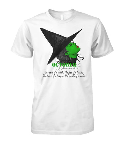 October Woman Shirt - Witch Apparel