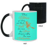 'Tis near Halloween Mug - Witch Apparel
