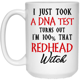 I'm 100% That Redhead Witch Mug - Witch Apparel
