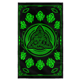 Speak With Love Blessed Be Wicca Flag
