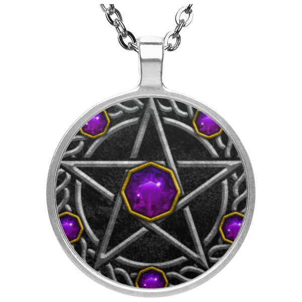 Pentagram Circle Necklace