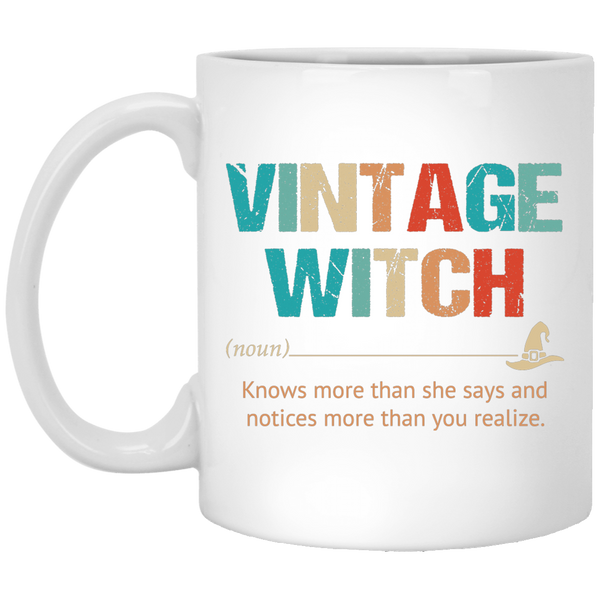 Vintage Witch Mug - Witch Apparel