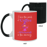 The Smell Of Coffee and Witchcraft Mug - Witch Apparel