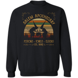 Salem Apothecary Massachusetts Witches Crewneck Sweatshirt - Witch Apparel