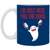 I'm just here for the boos Mug - Witch Apparel
