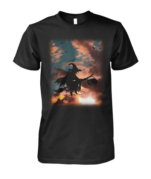 Sunset and Witch Shirt - Witch Apparel