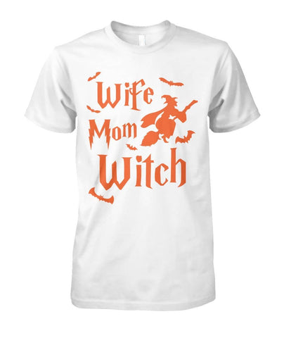 Wife Mom Witch  Shirt - Witch Apparel