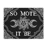 So Mote It Be Wicca placemat