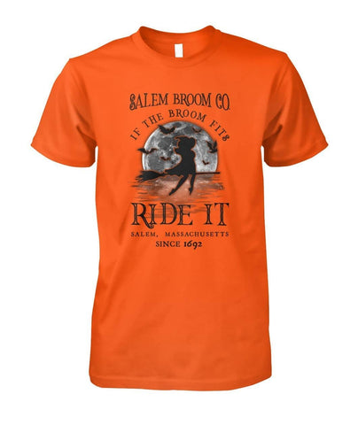 Salem Broom Co Ride It Shirt - Witch Apparel