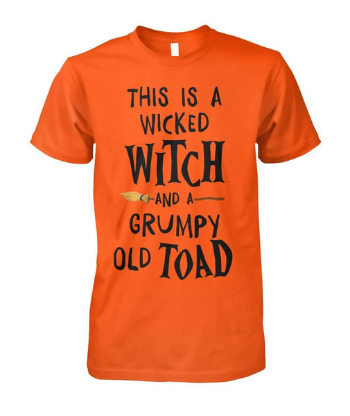 Grumpy Old Toad Shirt - Witch Apparel