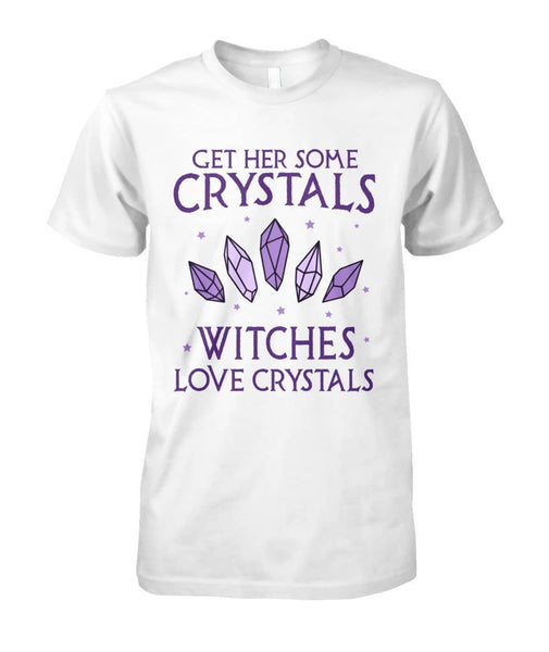 Witches Love Crystals Shirt - Witch Apparel