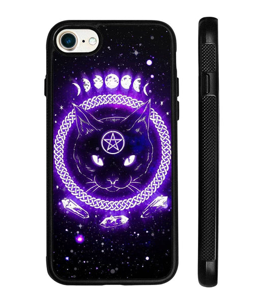 Black Cat Witch Phone Case - Witch Apparel