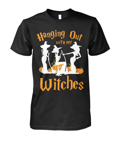 Hanging Out With My Witches Shirt - Witch Apparel