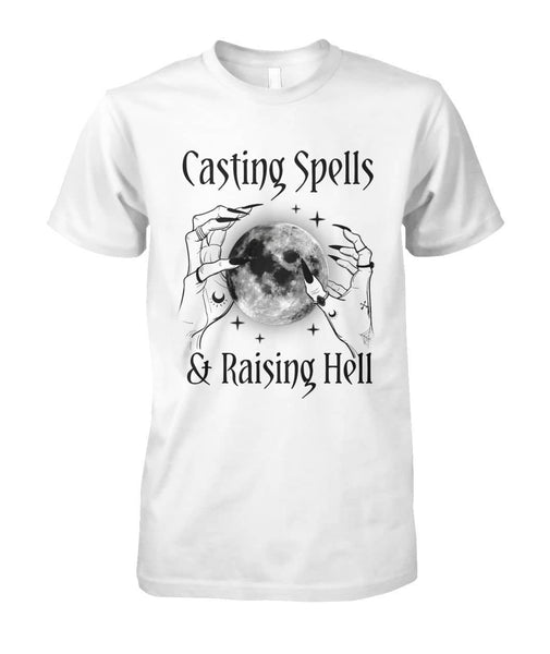 Casting Spell Shirt - Witch Apparel