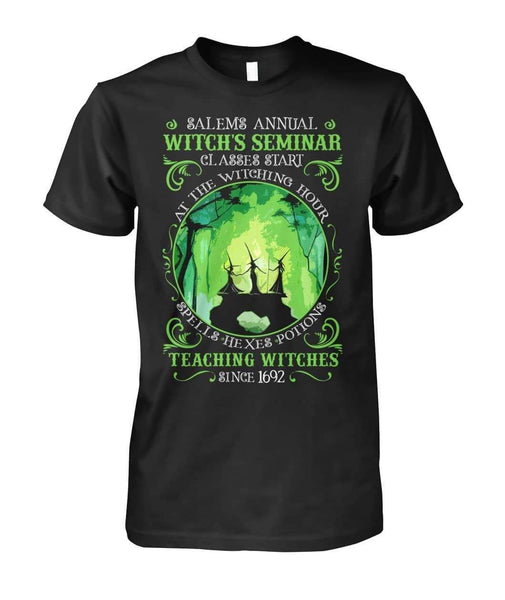 Salem's Annual Witch's Seminar Shirt - Witch Apparel