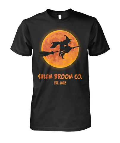 Salem Broom Shirt - Witch Apparel
