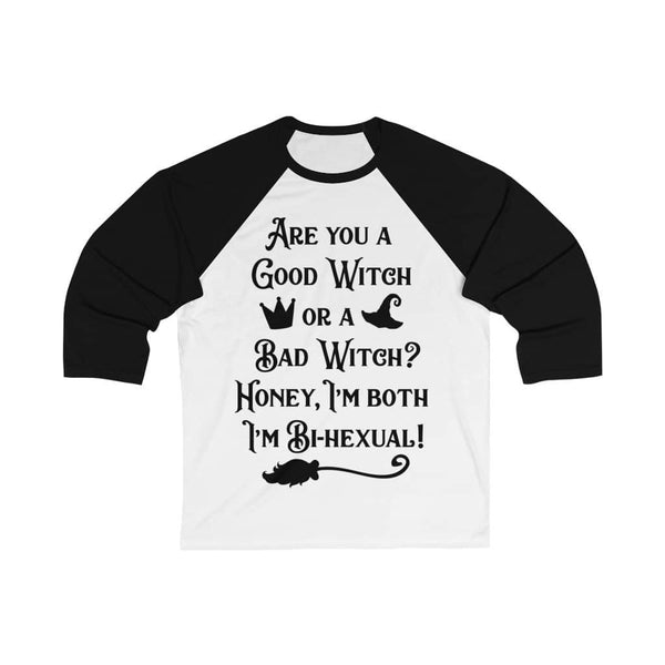 I'm Bi-hexual Witch Baseball Tee - Witch Apparel