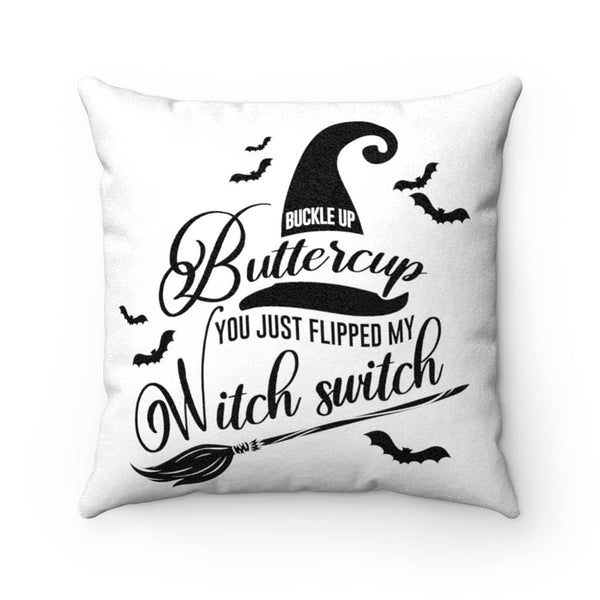 Buckle Up Butter Cup Pillow Case - Witch Apparel
