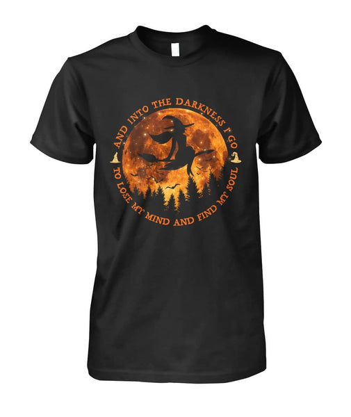 Into Darkness Shirt - Witch Apparel
