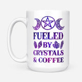 Fueled By Crystals Witch Mug