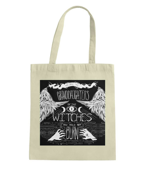 Granddaughter Of Witches Tote Bag - Witch Apparel