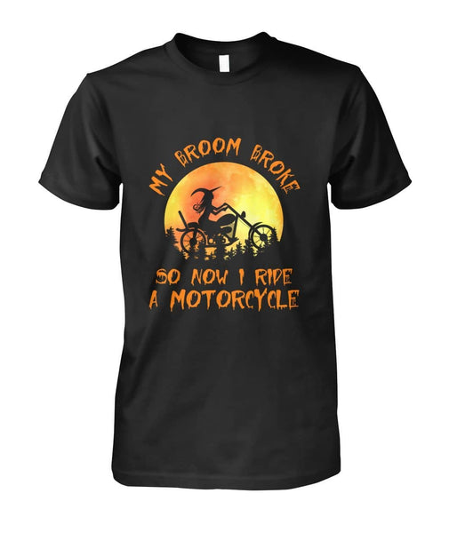 Ride A Motorcycle Shirt - Witch Apparel