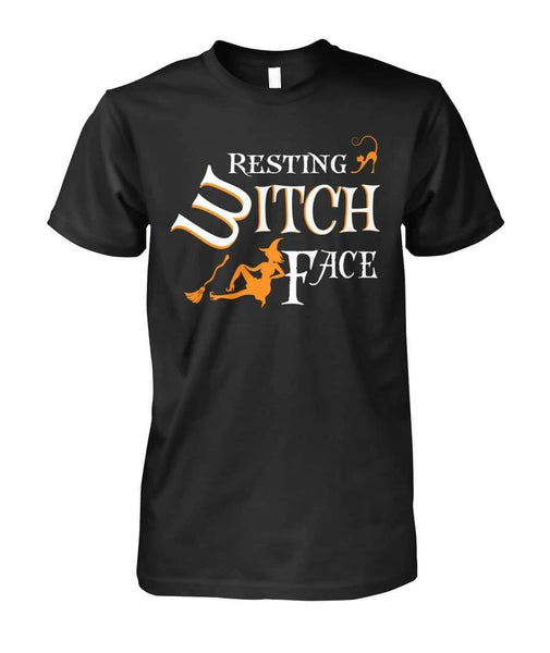 Resting Witch Face Shirt - Witch Apparel