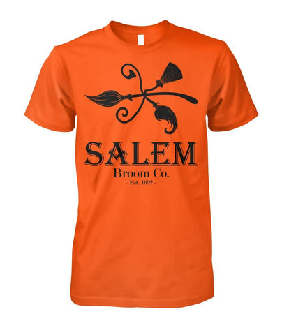 Salem Broom Co Est. 1692 Shirt - Witch Apparel