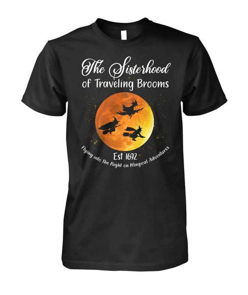 Sisterhood Of Traveling Brooms Shirt - Witch Apparel