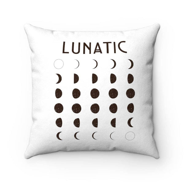 Lunatic Moon Decor Pillow