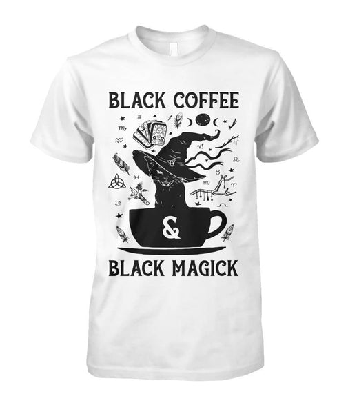 Black Coffee Black Magick Shirt - Witch Apparel