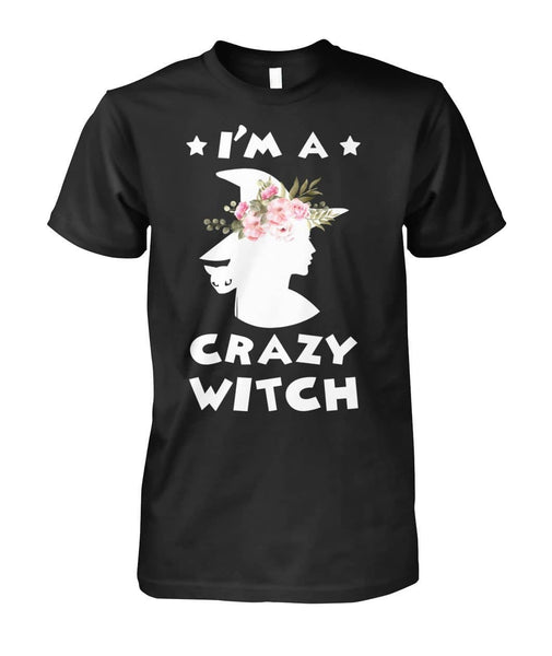 Crazy Witch Shirt - WitchCraft 101