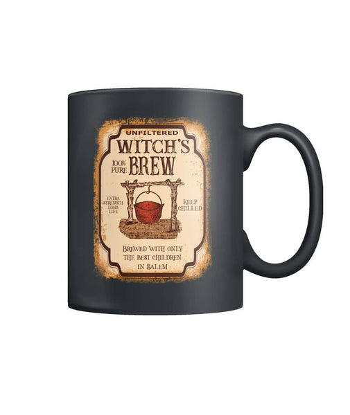 Unfilter Witch's Brew  Color Coffee Mug - Witch Apparel