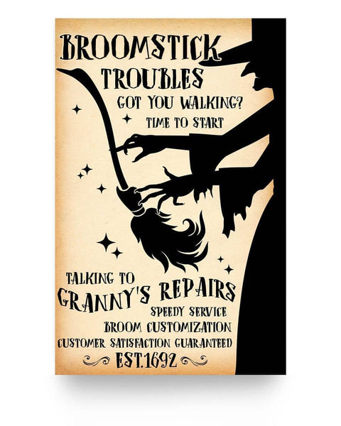 Granny's Repairs - Witch Apparel